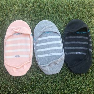Women's Stance No Show 3pack Small size Socks